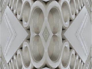 Kaleidoscope image of masonry detail