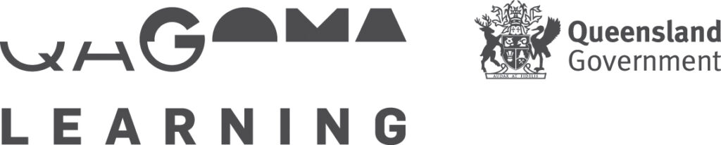 QAGOMA Learning Logo