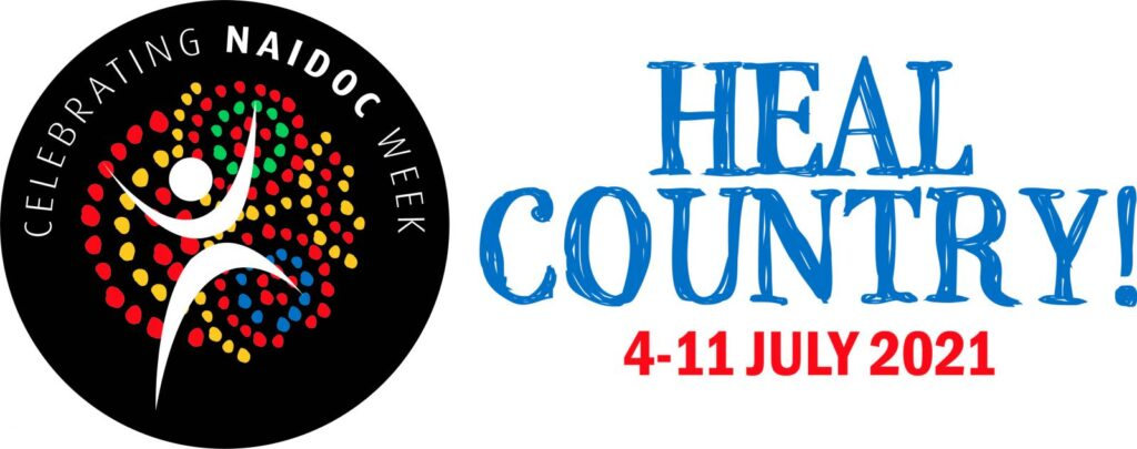 NAIDOC Heal Country Logo