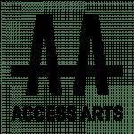 Access Arts Logo Black